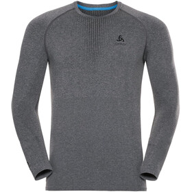 Odlo Suw Performance Warm Longsleeve Top Crew Neck Heren, grey melange-black